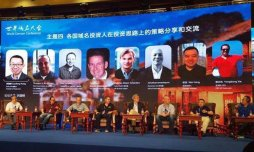 George Hong hosted a domain investing strategy panel at 2016 World Domain Conference